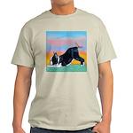 Boston Bull Terrier Ash Grey T-Shirt