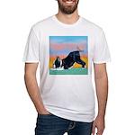Boston Bull Terrier Fitted T-Shirt