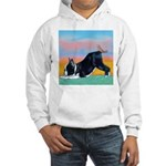 Boston Bull Terrier Hooded Sweatshirt