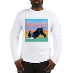 Boston Bull Terrier Long Sleeve T-Shirt