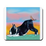 Boston Bull Terrier Mousepad