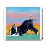 Boston Bull Terrier Mousepad