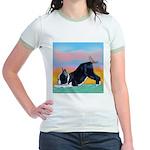 Boston Bull Terrier Jr. Ringer T-Shirt