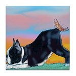 Boston Bull Terrier Tile Coaster