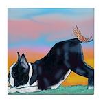 Boston Bull Terrier Tile Coaster