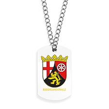 Rheinland-Pfalz (gold).png Dog Tags
