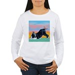 Boston Bull Terrier Women's Long Sleeve T-Shirt