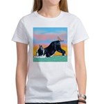 Boston Bull Terrier Women's T-Shirt