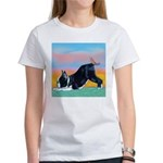 Boston Bull Terrier Women's T-Shirt