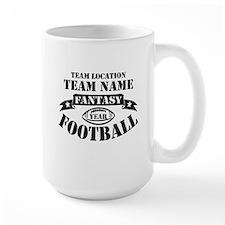 Personalized Fantasy Blk Mugs