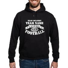 Your Team Fantasy Wht Hoodie