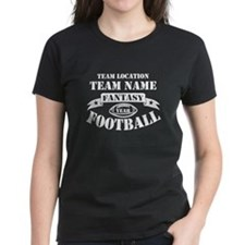Your Team Fantasy Wht T-Shirt