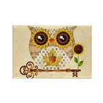 Owls Autumn Song Magnets