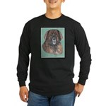 The Leonburger Long Sleeve Dark T-Shirt