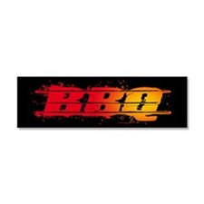 BBQ Car Magnet 10 x 3