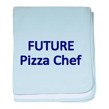 Future Pizza Chef baby blanket