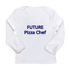 Future Pizza Chef Long Sleeve T-Shirt