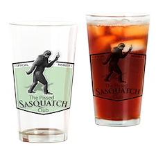 The Pissed Sasquatch Club Drinking Glass