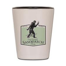 The Pissed Sasquatch Club Shot Glass