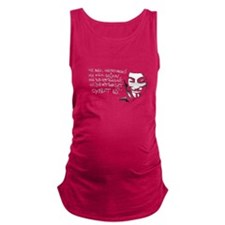 Anonymous 99% Occupy t-shirt Maternity Tank Top