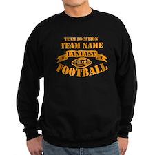 PERSONALIZED FANTASY ORANGE Sweatshirt