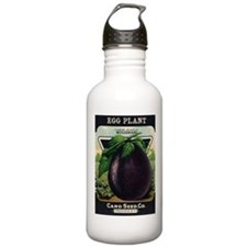 EGGPLANT - Large Purple Mulignani crnc Water Bottl