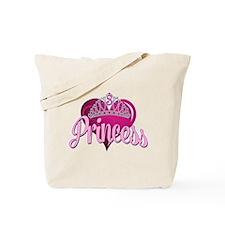 Princess 3rd Bday Tote Bag