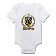 BEAUCHAMP Family Crest Infant Bodysuit