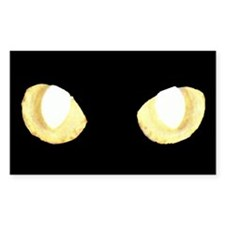 Glowing Eyes Rectangle Decal
