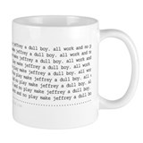 Jeffrey Small Mug