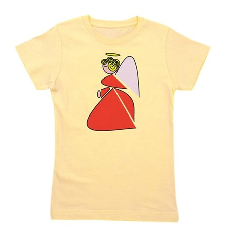 angel9b.png Girl's Tee