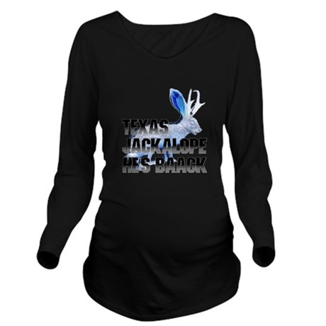 Jackolope5.png Long Sleeve Maternity T-Shirt