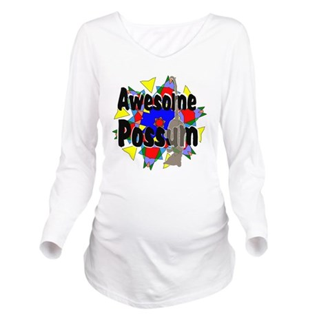 064.png Long Sleeve Maternity T-Shirt
