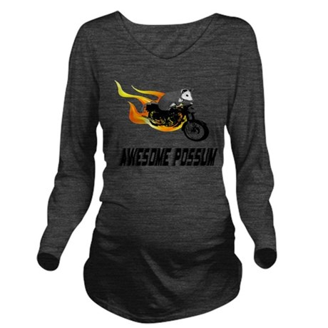 cycle2.png Long Sleeve Maternity T-Shirt