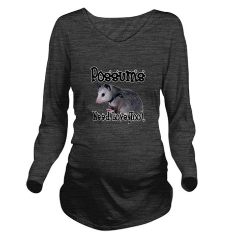possum34.png Long Sleeve Maternity T-Shirt