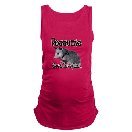 possum34.png Maternity Tank Top