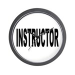 Instructor Wall Clock