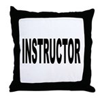 Instructor Throw Pillow