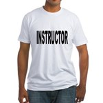 Instructor (Front) Fitted T-Shirt