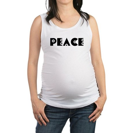 Peace Maternity Tank Top