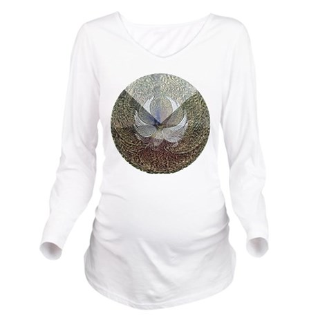 Guardian Angel Long Sleeve Maternity T-Shirt