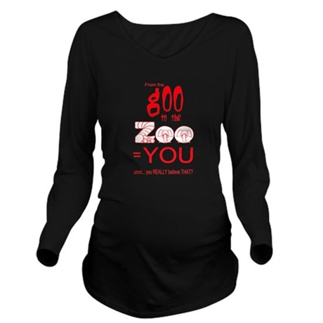 goozoo4.png Long Sleeve Maternity T-Shirt