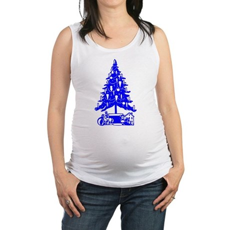 Christmas_Tree2c.png Maternity Tank Top