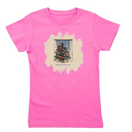 Happy Christmas.png Girl's Tee