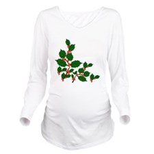 holly3.png Long Sleeve Maternity T-Shirt