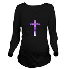 Cross 014 Long Sleeve Maternity T-Shirt