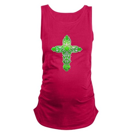 cross31c2.png Maternity Tank Top