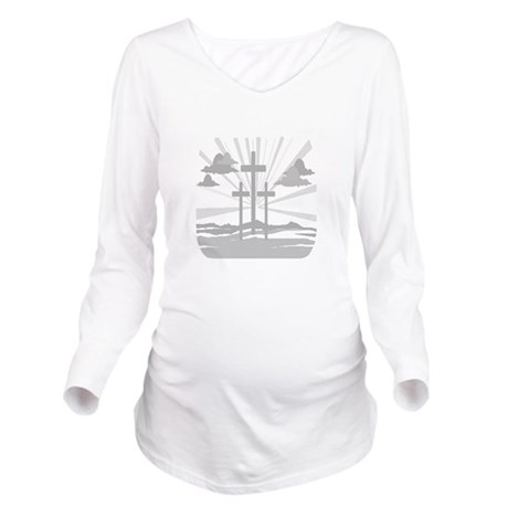 Calvary Long Sleeve Maternity T-Shirt