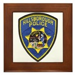 Hillsborough Police Framed Tile