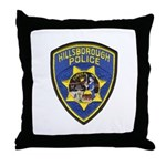 Hillsborough Police Throw Pillow
